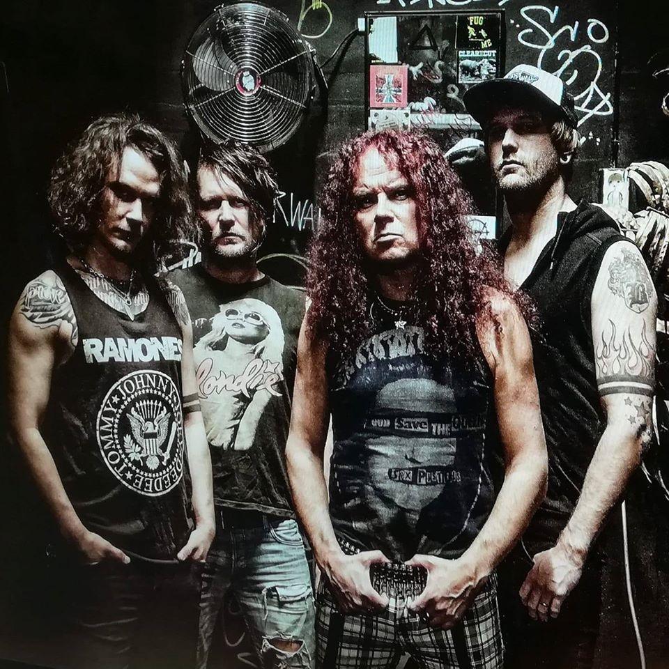 VV: Bass, Saska: Drums & backing vocals, Jasse: Vocals & guitar, Juho: Guitars & backing vocals