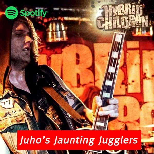 Juho - guitars & backing vocals